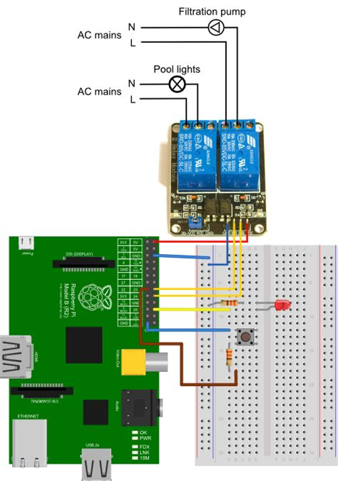 wi fi relay controller raspberry pi wi wiring diagram