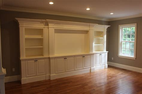 Diy Painted Kitchen Cabinets Projection Screen Entertainment Center Family Room