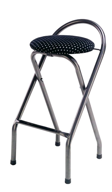 Folding Bar Stools by Folding Chrome Bar Stools Popular Faux Leather Seat Reality