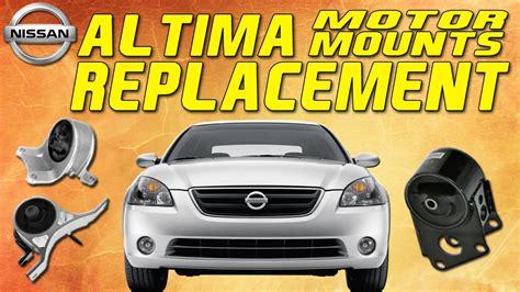 2006 nissan altima motor mount nissan altima 2 5l motor mount replacement