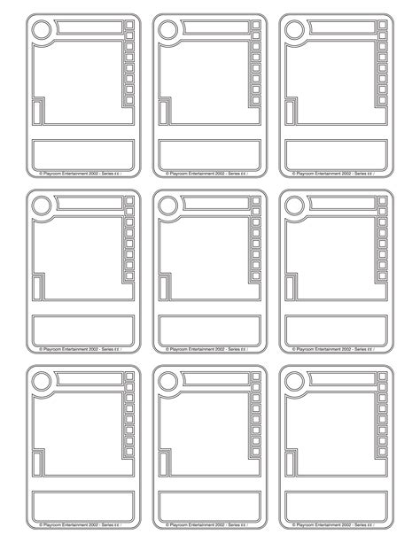 cards box template pdf 6 best images of card box printable pdf template
