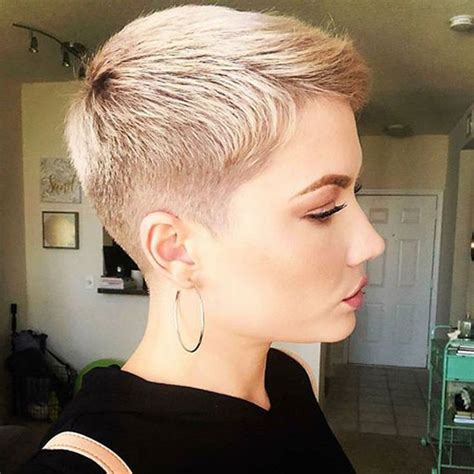 super short blonde pixie cuts short haircutcom