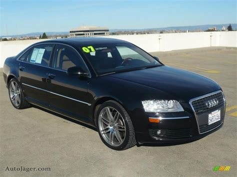 Auto J Ger by 2007 Audi A8 L 4 2 Quattro In Brilliant Black 001590 Auto