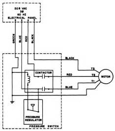single phase contactor wiring diagram for compressors phase free printable wiring diagrams