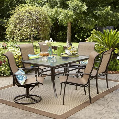 Harrison Patio Furniture Garden Oasis Harrison 7 Dining Set Shop Your Way Shopping Earn Points On Tools