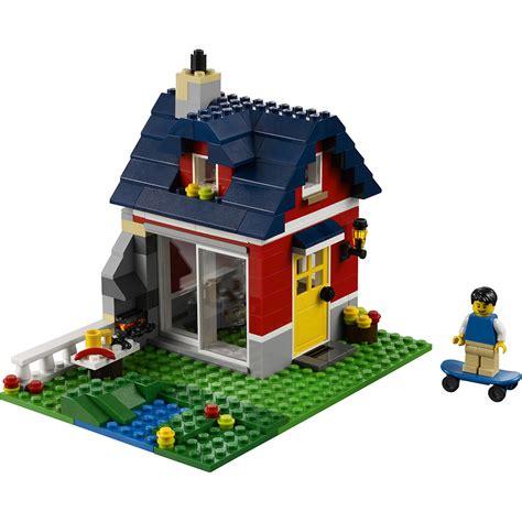 lego casa lego creator pequena casa de co 31009 americanas