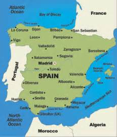 map of spain and regions spain trops preparing to enter subtropical fruit retail market