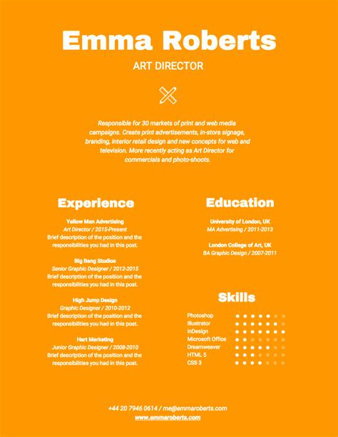 resume color office templates