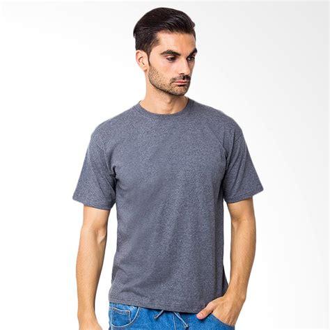 Browncola T Shirt Cotton Polos jual browncola kaos polos kaos pria grey