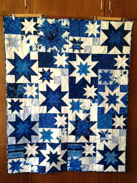 Pattern For Blue And White Quilt | 9 patch quilt blue and white patchwork quilt patterns blue