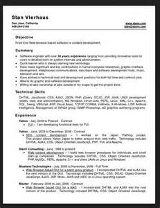 free sle resume templates word 2007 resumes design