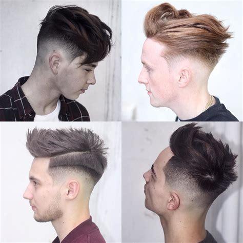mid top fade mid fade haircuts