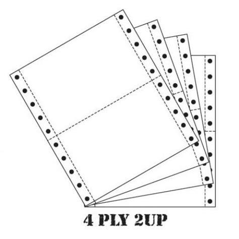 Paperline 9 5 X 11 2 4 Ply Ncr 500 Box Prs computer form paper 9 5 x 11 4 p end 12 17 2017 11 15 am