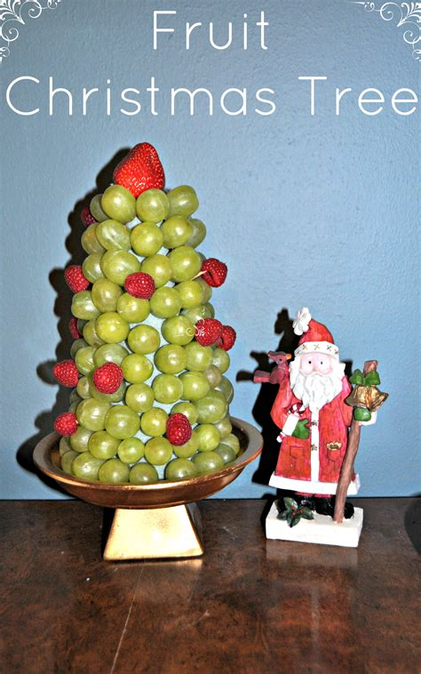 how to make christmas fruits diy fruit tree