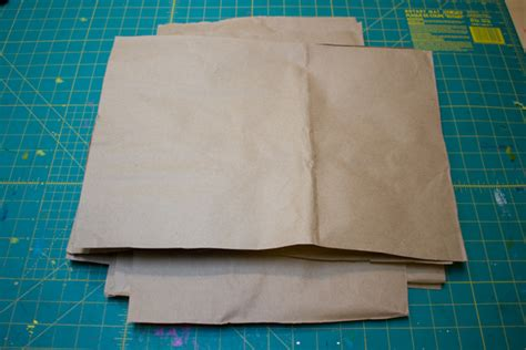 How To Make A Brown Paper Bag - brown paper bag journal tutorial crafting a green world