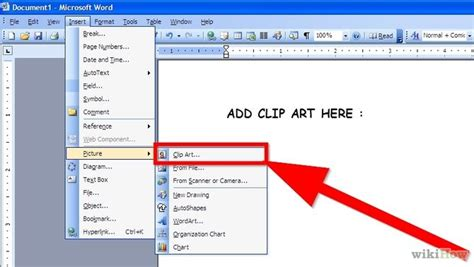 clipart microsoft word 4 easy ways to add clip to microsoft word wikihow