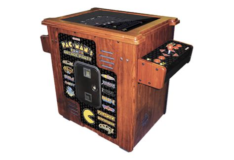 pac arcade machine cocktail table sharper image