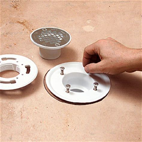 Installing a Mortared Shower Pan   How to Tile Bathroom