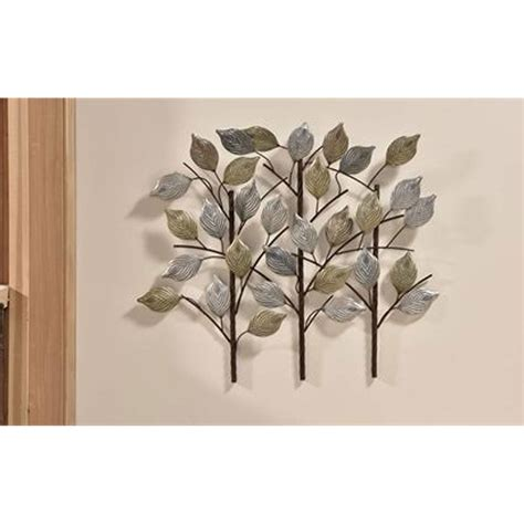 gift craft home decor giftcraft 085786 iron tree branches wall decor hope