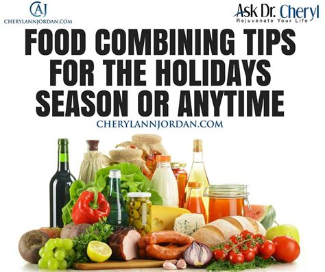 reunited for the holidays series 1 food combining tips for the holidays season or anytime