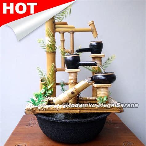 Jual Bambu Unik Bambu Buta Kaskus snap kerajinan bambu air mancur interior rumah dan taman