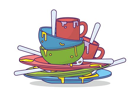 Modern Mug by Dirty Dishes Vector Download Free Vector Art Stock
