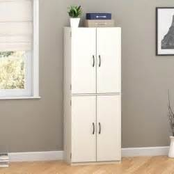 Closet Cabinet Doors White Pantry Storage Cabinet Wooden Laundry Closet Doors Organizer Cupboard Ebay