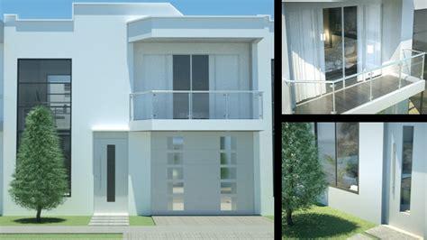 dise o de casa casa moderna minimalista dise 241 o de interiores prado verde 2 pisos 156 m 178