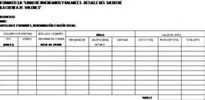 formatos de contabilidad per 250 libros y registros vinculados a asuntos tributarios