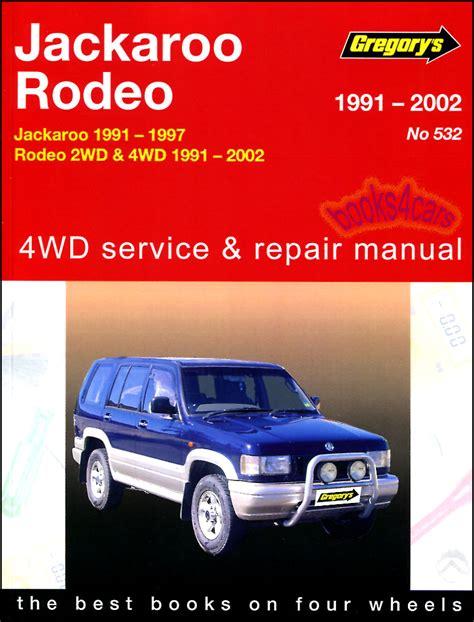 service and repair manuals 1997 isuzu trooper auto manual shop manual trooper service repair isuzu book gregorys haynes chilton slx 92 02 ebay