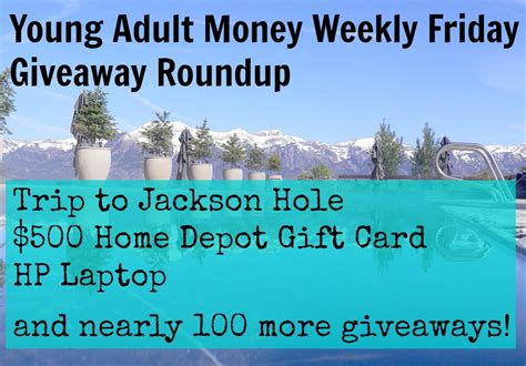 Friday Giveaway - friday giveaway roundup young adult money