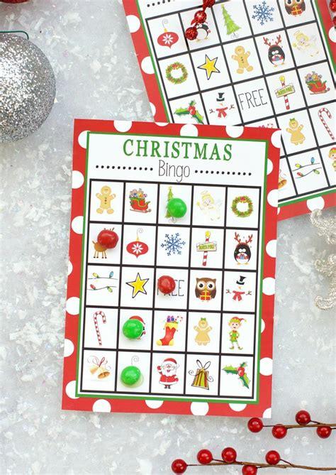 minute printable stocking stuffer games