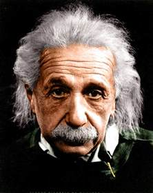 albert einstein in color don quixote and albert einstein the two dreamers