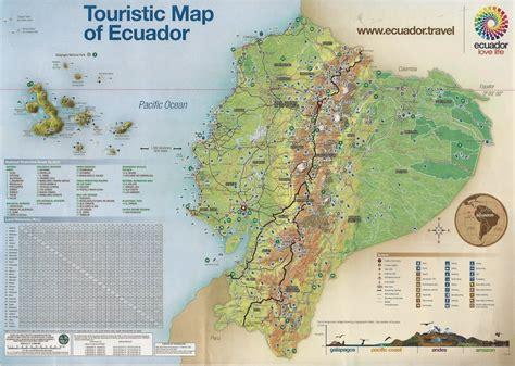 Ecuador Tur 205 Stico | equador mapa tur 237 stico