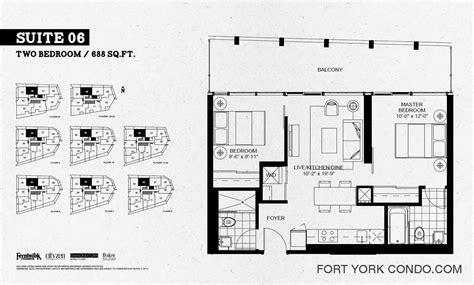 2 bedroom condo floor plan garrison point condos preconstruction fort york condo