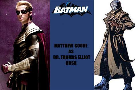 the toyman killer cast new batman fan cast hush matthew goode by