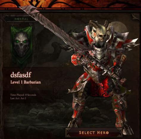diablo iii best barbarian legendary and set items in diablo 3 reaper of souls new barbarian armor set shown