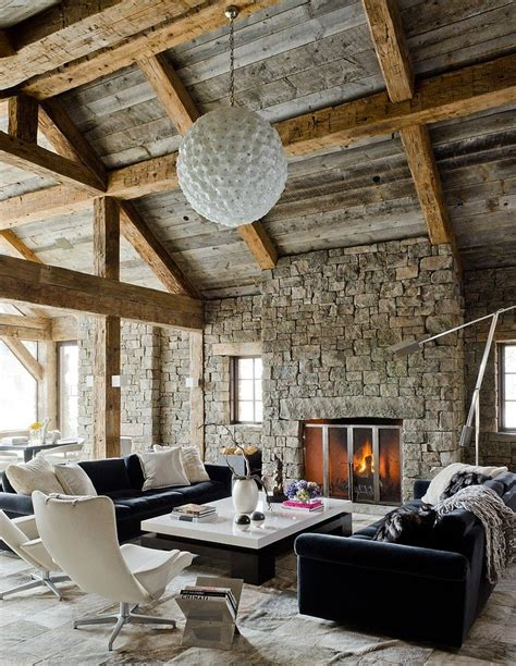 redux house in the mountains rustic combined with modern perfect ski retreat in big sky montana the rustic redux