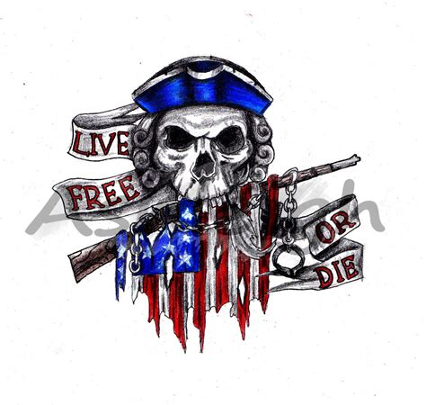 live free or die tattoo live free or die by tattoosbyashleigh on deviantart