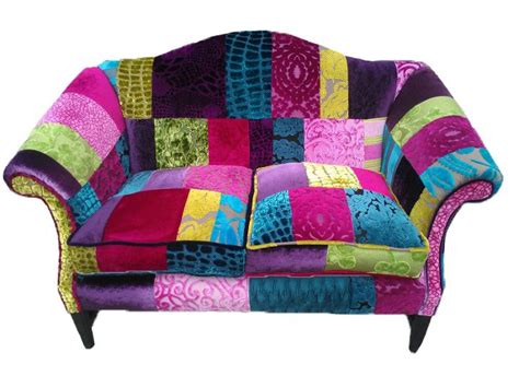 Patchwork Upholstery Fabric Uk - patchwork sofa designed by co uk patchwork