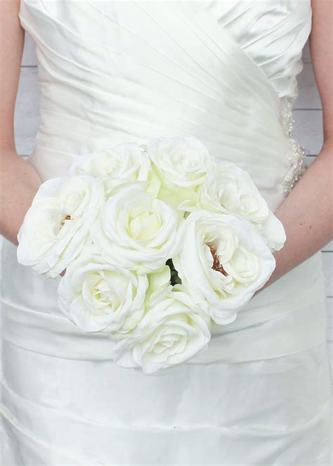 Silk Flower Wedding Bouquet by Silk Wedding Bouquets Silk Wedding Flowers Artificial