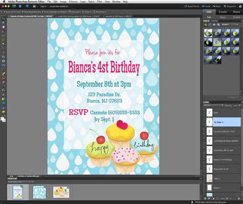 how to make a pattern in photoshop elements 11 lauren likes to draw tutorial make your own invites with