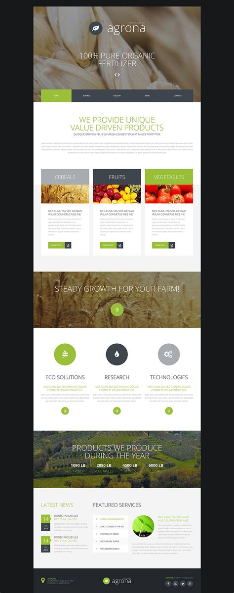 template joomla html joomla template 53784 in agriculture category