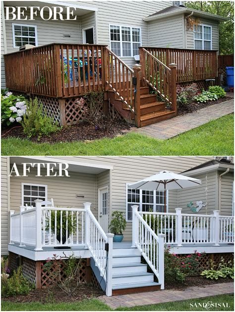 All Decked Out! Total Deck Makeover   Sand and Sisal