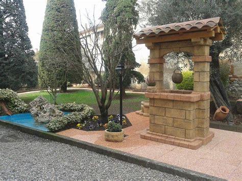 pozzi da giardino in pietra pozzo da giardino in pietra ricostruita mod country