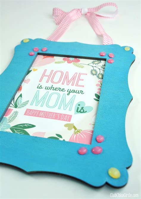 how to build an a frame diy mother earth news mother s day frame with homemade enamel dots free