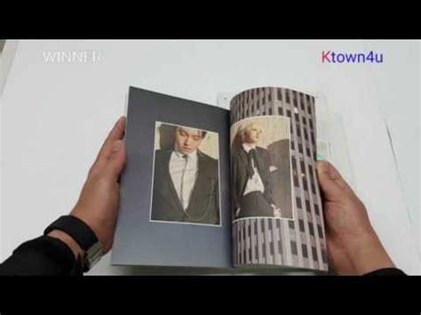 Winner Fate Number For Album Unsealed ktown4u unboxing winner single album fate number for for seoul for la ver