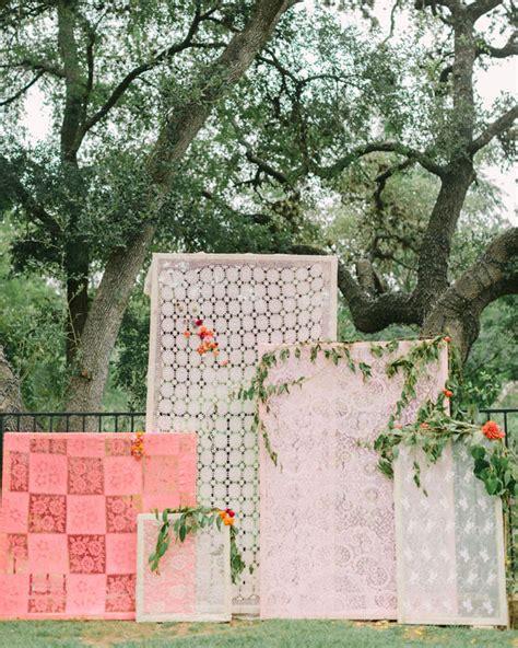 Wedding Lace Backdrop by Lace Panel Ceremony Backdrop