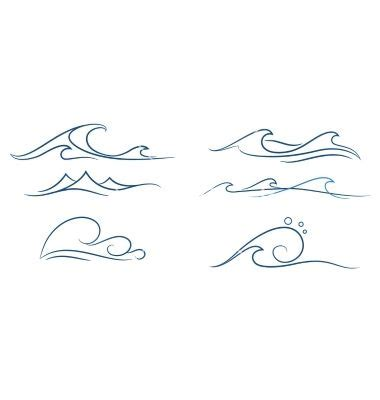 simple wave tattoo best 25 wave tattoos ideas on small wave