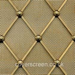 Decorative Wire Mesh For Cabinets Radiator Grilles By Coverscreen Uk